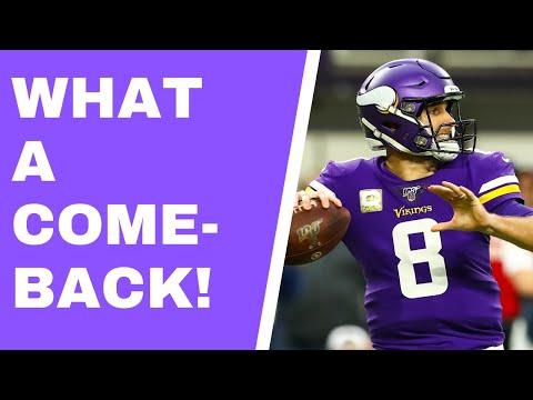 Incredible Win! Minnesota Vikings Storm Back To Beat Denver Broncos [Amazing Second-half Comeback!]