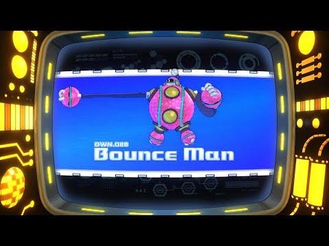 Mega Man 11 - Bounce Man Stage Gameplay (Newcomer Mode)
