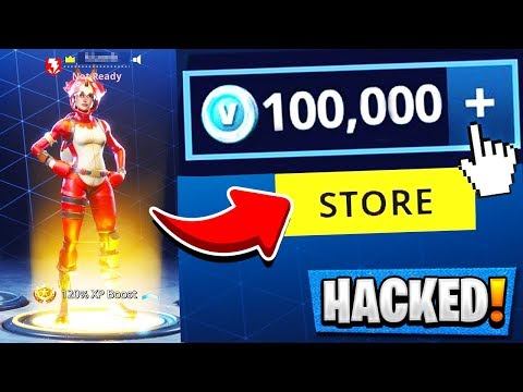 So I hacked muselk's fortnite account . . . 😈