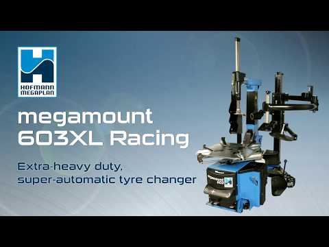 Megamount 603 | An Extra-heavy Duty, Super-automatic Tyre Changer