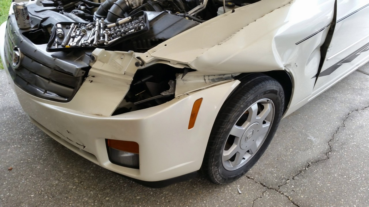 2003 Cadillac CTS Wrecked Project Inroduction