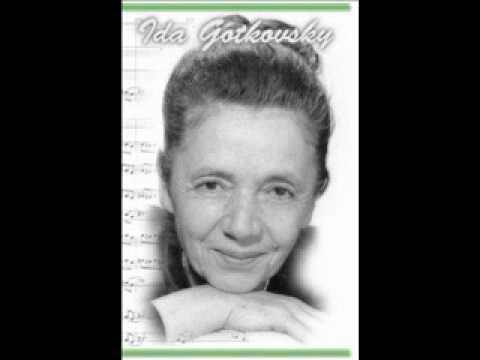 Ida Gotkovsky, Brillance -  IV (Final)
