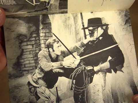 Zorros Fighting Legion Serial Pictorial Booklet 1939 Republicwmv