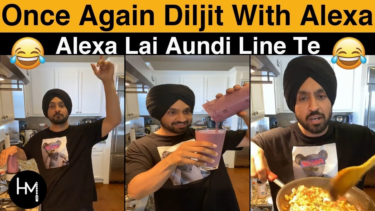 Download Diljit Dosanjh  Funny cooking With Alexa Again