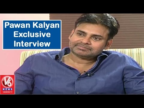Power Star Pawan Kalyan Exclusive Interview || Sardaar Gabbar Singh || V6 News