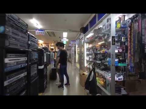 [4K] 낙원상가 - Walking around Nakwon Musical Instruments Arcade, Seoul, Korea