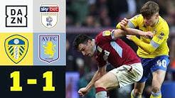 Fairplay! Marcelo Bielsa ordnet Gegentor an: Leeds United - Aston Villa 1:1 | Championship | DAZN