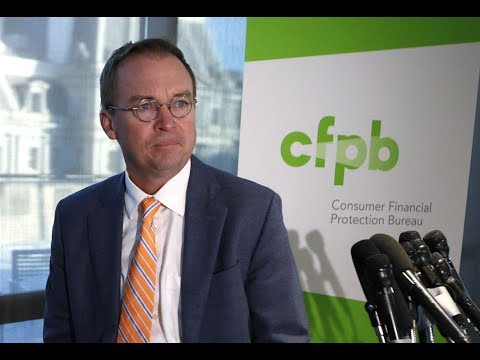 """CFPB Director: Days Of Protecting Consumers 'Are Over!"""""""