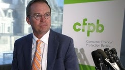 CFPB Director: Days Of Protecting Consumers 'Are Over!""
