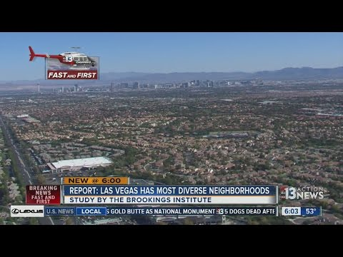 Study: Las Vegas neighborhoods among the most diverse in US