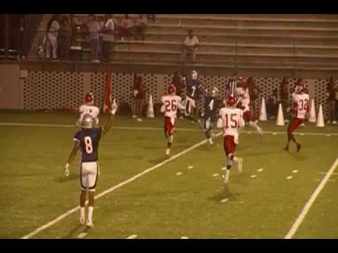 Park Crossing Quarterback Malik Cunningham 2nd Rushing Touchdown Run Of The Night vs Robert E Lee
