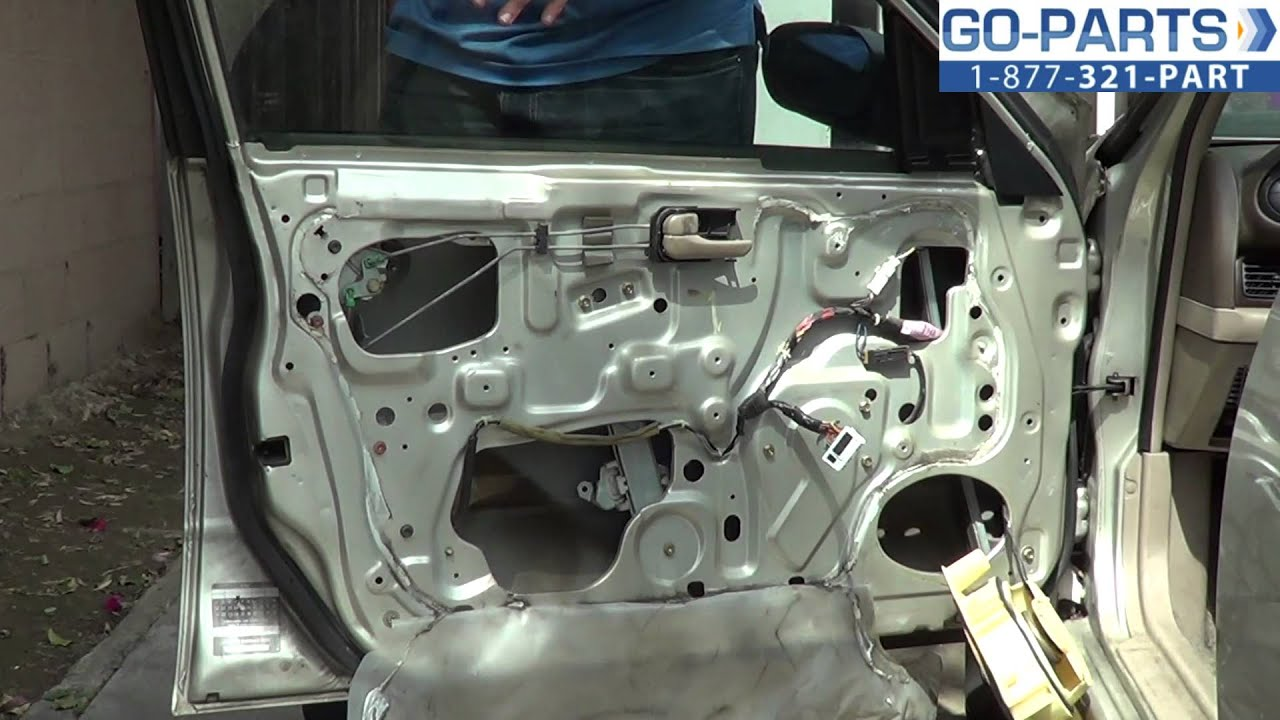 Replace 1993 1997 Nissan Altima Power Window Regulator