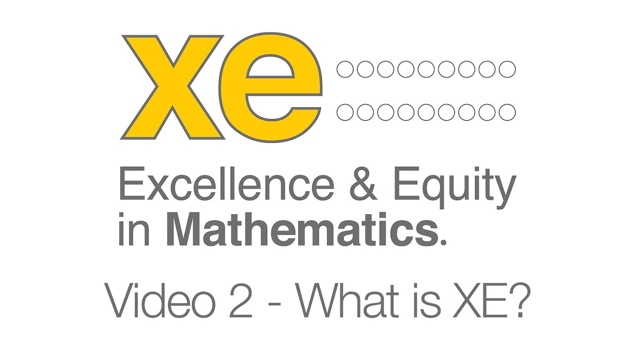 XE Video 2 - 'What is XE?'