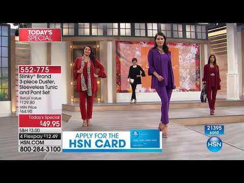HSN | Slinky Brand Fashions 08.12.2017 - 12 PM