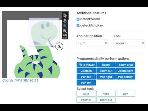 React SVG Pan Zoom - YouTube