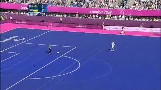Football 7-a-side - BRA vs UKR - 1st half - Men's Pool B Prelims - London 2012 Paralympic Games