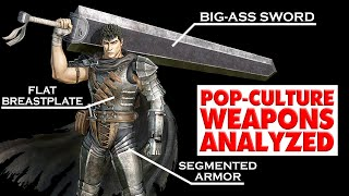 Pop-Culture Weapons Analysed: Guts from Berserk