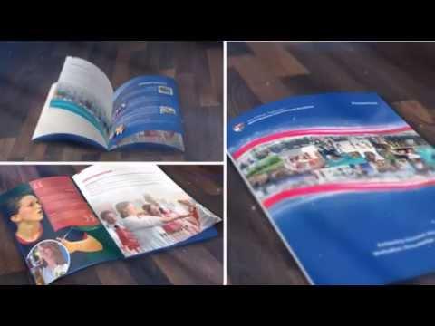 Graphic design: Brochure and prospectus designs 1