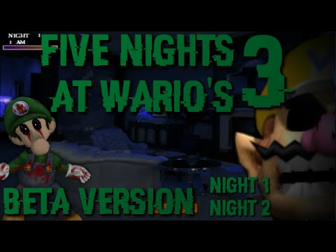 FIVE NIGHTS AT WARIO'S 3 [BETA VERSION] - BEST FNAF FAN-GAME EVER!