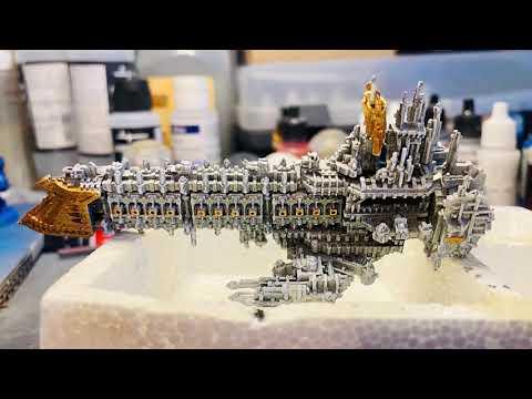 Battle Fleet Gothic Emperor class Battleship |