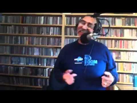 Hanging at KNBA radio station Anchorage Alaska