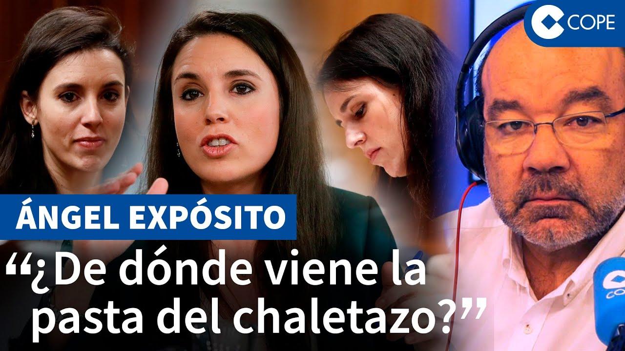 "Expósito responde a Irene Montero: ""Eres ministra por ser pareja de"""