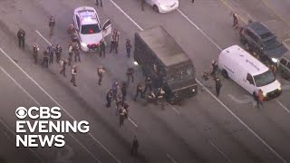 Police tactics questioned after UPS truck chase ends in shootout