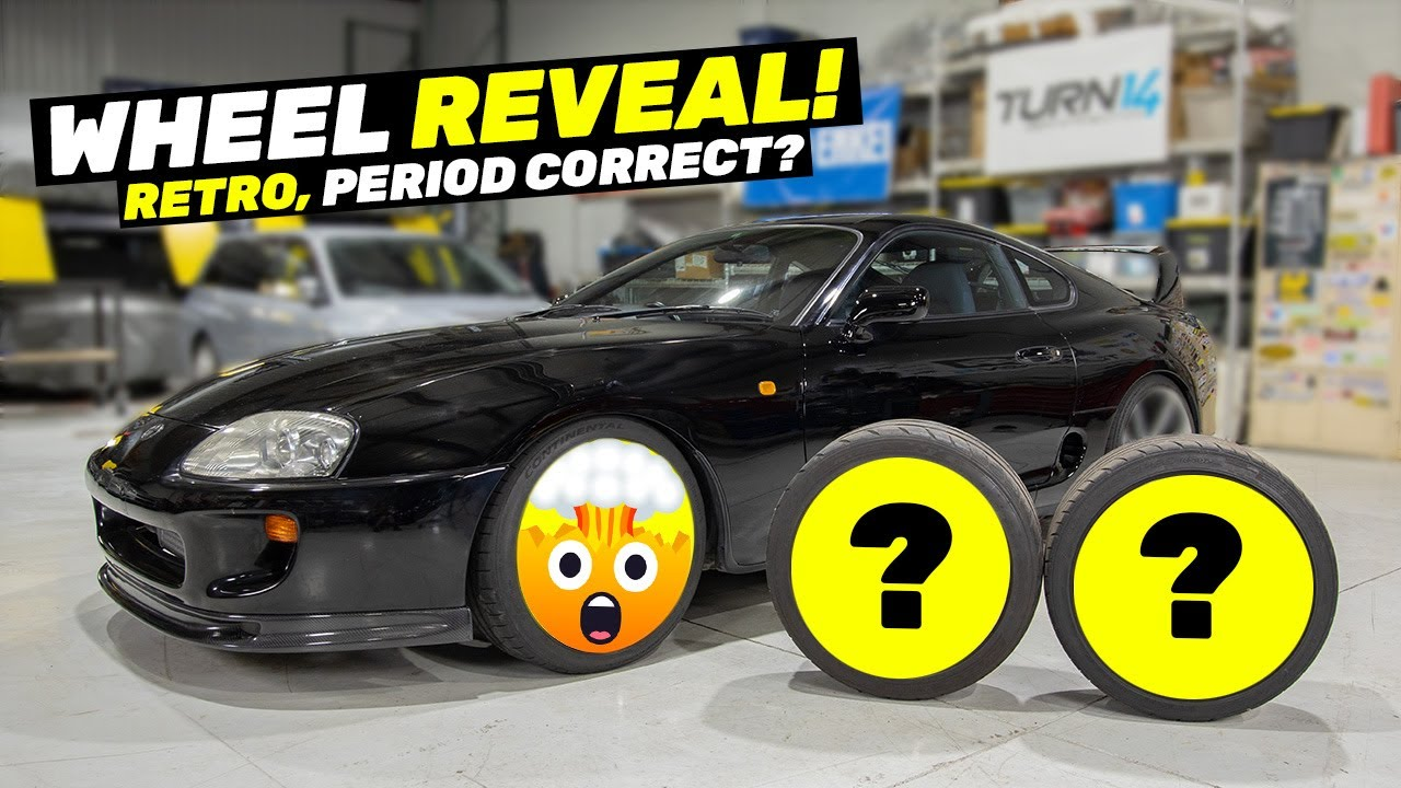 Help Us Choose Wheels for the Beater Toyota Supra