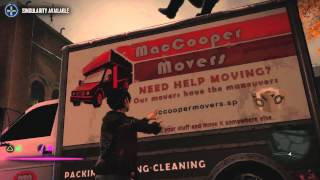 inFamous: First Light - Drug Dealer Trucks [PS4 Gameplay HD]