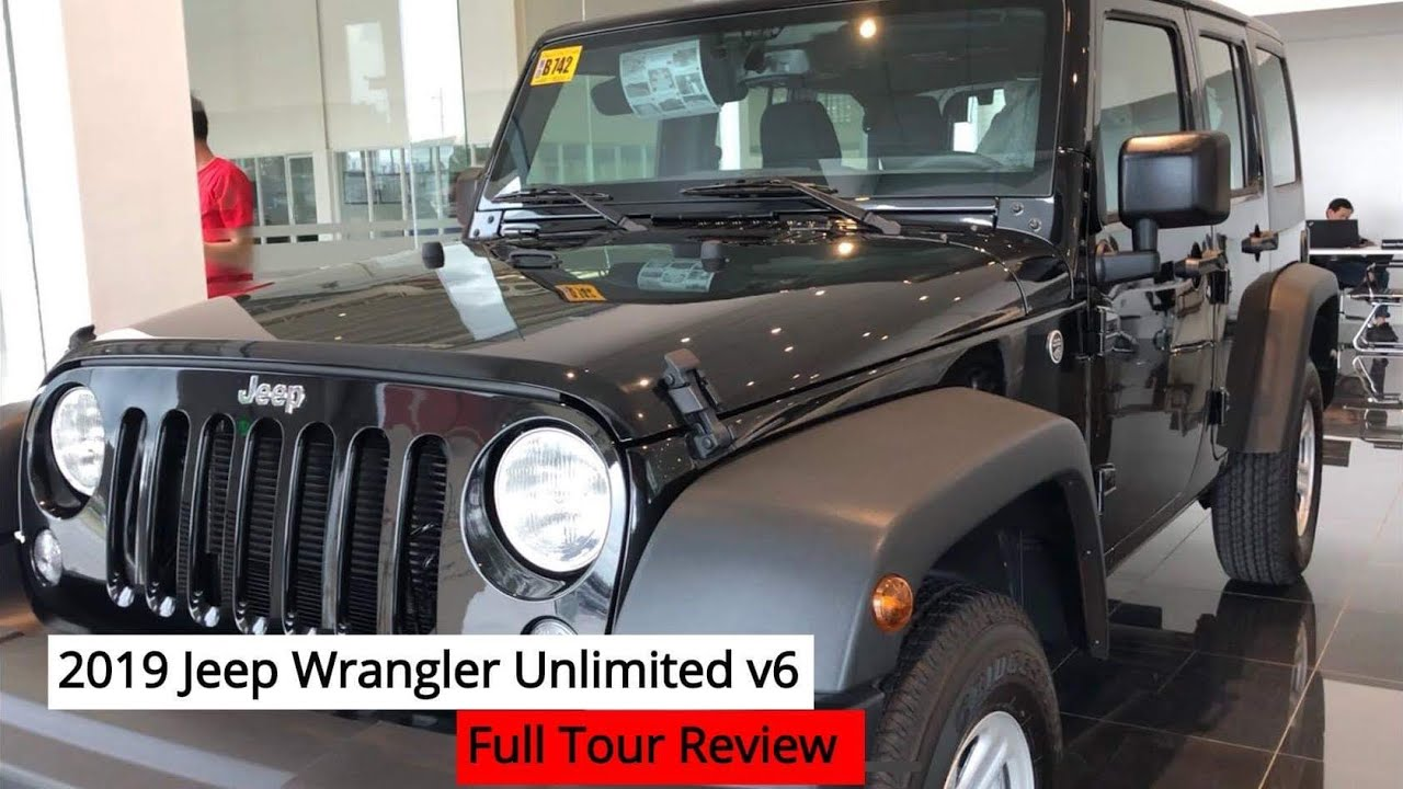 2019 Jeep Wrangler Unlimited V6 Full Tour Review Youtube