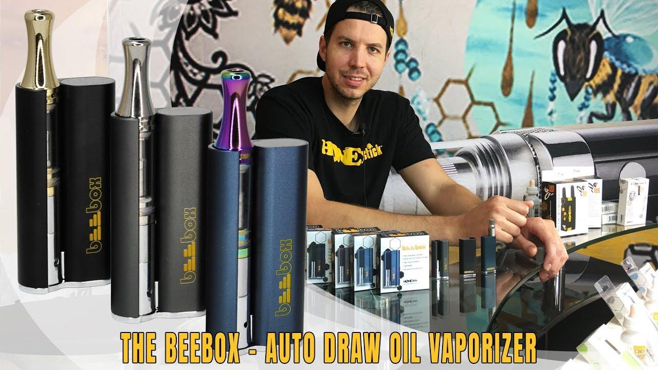 HoneyStick BeeBox Vaporizer - Auto Draw Vape Concealer | 510 thread Oil  Cartridges | Dab/Wax Vaping