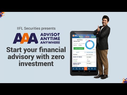 IIFL Securities Provides Great Opportunity For Financial Advisors