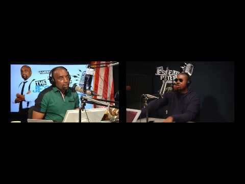 Tariq Nasheed vs  Jesse Lee Peterson -In Studio Camera Version