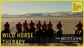 Wild Horse Therapy For Ex-Cons  | The Mustang // 60 Second Docs