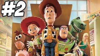 Toy Story 3: The Video Game Walkthrough | Part 2 (Xbox360/PS3/PC/Wii)