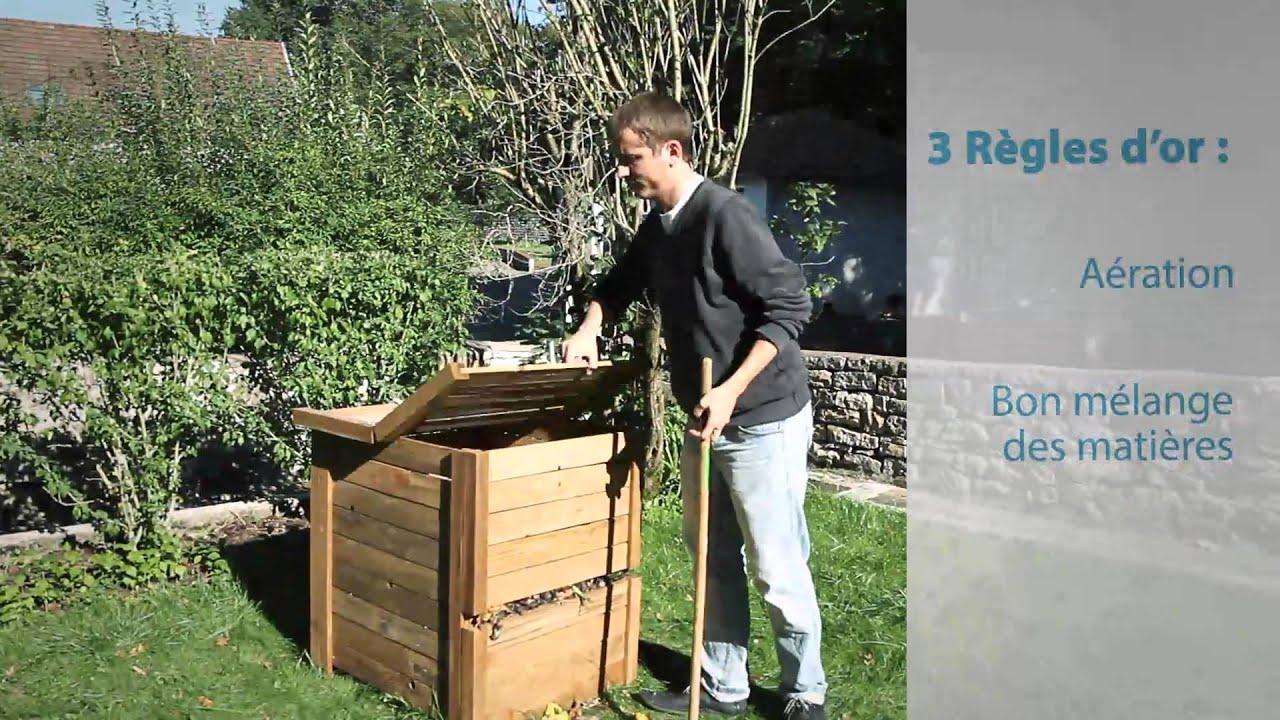 faire du composte maison Le compostage individuel : les règles du0027or