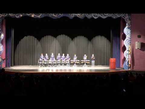 River Hill High School Drumline - Best of Talent Show 2017