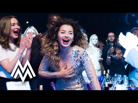 Ella Eyre | Best Newcomer acceptance speech at MOBO Awards | 2014