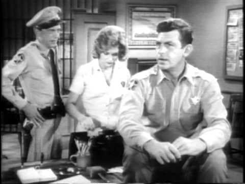 """The Andy Griffith Show - lost epilogue to """"Barney Mends a Broken Heart"""""""