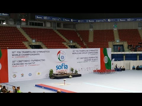2017 FIG Trampoline World Age Group Competitions day 2 part 4 (finals)