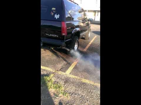 96 Yukon Smoke after Seafoam