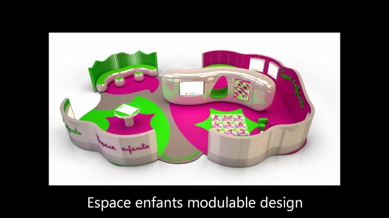 rouge cobalt espace enfants design univers enfants modulable youtube. Black Bedroom Furniture Sets. Home Design Ideas