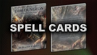 SPELL CARDS (D100 DUNGEON)