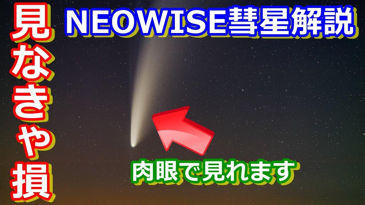 【ゆっくり解説】いま会える彗星! NEOWISE彗星について解説します