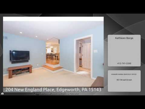204 New England Place, Edgeworth, PA 15143