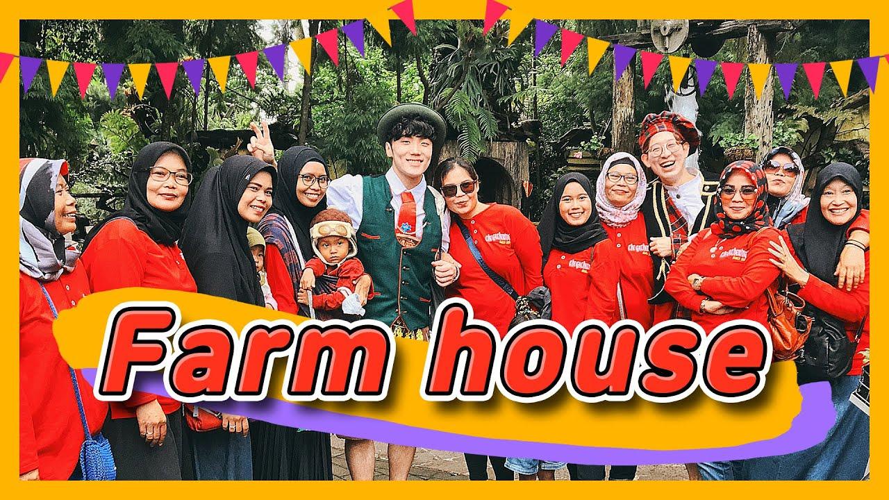 [JALAN-JALAN LOG] Tujuan Wisata No.1 di Bandung, Farm House