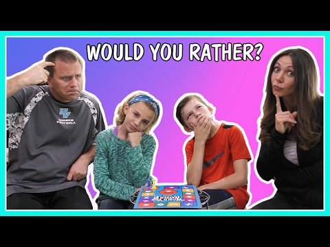 WOULD YOU RATHER CHALLENGE | FAMILY EDITION | GAME NIGHT