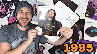 CHECK OUT THIS RARE 1995 WWE MERCHANDISE CATALOG!!!
