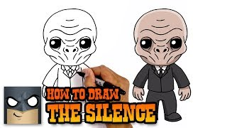 How to Draw The Silence | Dr.Who | Awesome Step-by-Step Tutorial
