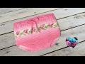 Couvre couche culotte bébé tricot pas à pas / Diaper cover knit (english subtitles)